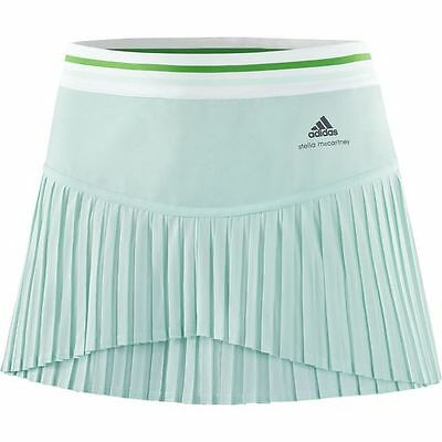NEW Adidas Stella McCartney Barricade Women's Tennis Skort Fresh Aqua Size Small