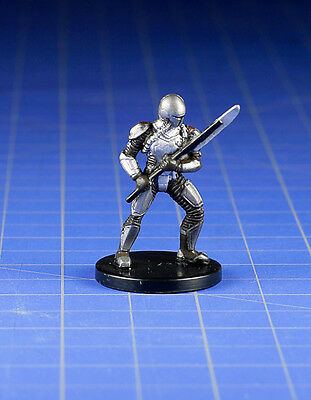 Star Wars miniatures minis Bounty Hunters Mandalorian Warrior #60 & Card WOTC