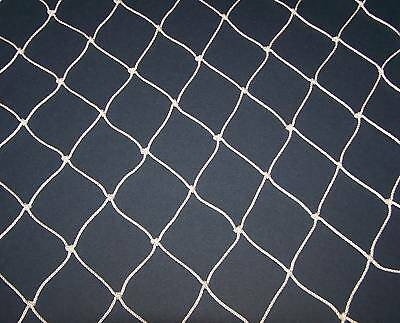 "1000' x 10' BASEBALL  BARRIER BACKSTOP NETTING  2"" NYLON  #9  TWINE TEST 100 LB"