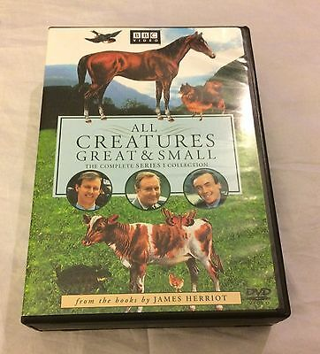 All Creatures Great & Small The Complete Series 1 Collection R1 4-Disc Dvd