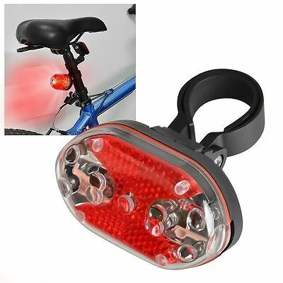 New Bright Bike Bicycle Cycling 9 LED Flashing Light Lamp Safety Back Rear Tail#
