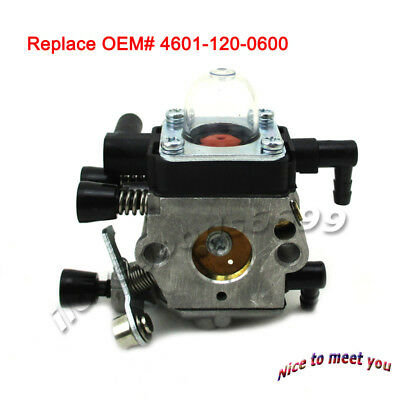 MM55 Carb For Stihl MM55 MM55C Tiller OEM# 4601-120-0600 Zama C1Q-S202 C1Q-S202A