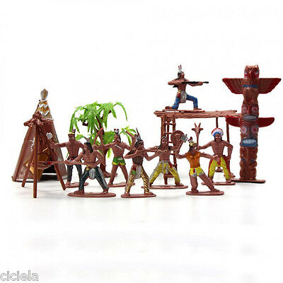 Moldel Figures Indian Tribes The Best Wild West Western Region Cowboy Toys New