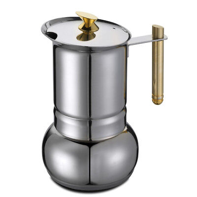 GAT Amore - Stove Top Espresso Coffee Maker - Stainless Steel