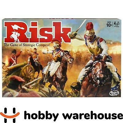 Hasbro Risk Game - The Game of Strategic Conquest