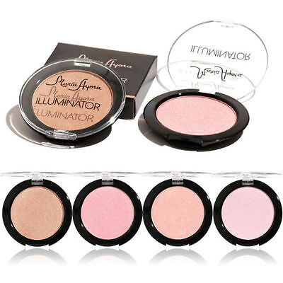 Press Powder Professional Highlighter Palette Beauty Make Up Face Foundation