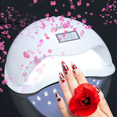 Pro SUN5 48W UV LED Séchoir à ongles lampe UV Nail Art Polish Dryer Manicure Kit