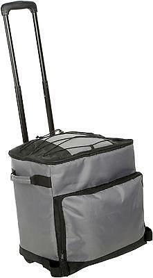 Halfords Outdoor Picnic Camping Hiking Travel Coolbag Trolley 25L Litre