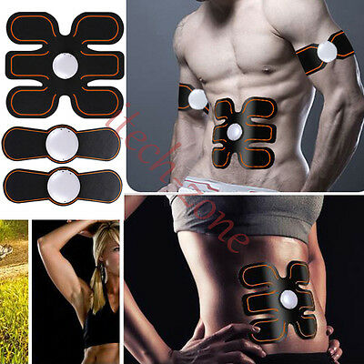 Wireless Electronic Muscles Toner Fitness System Body Massager ABS Fit Gear Pads