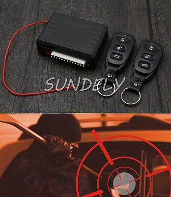 Fast Car 2 Central Remote Keyless Entry Door Locking Kit GM Vehicle System DT UK