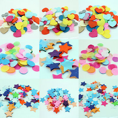 900pcs/Pack Flame Retardant Paper Table Throwing Confetti Party Wedding Decor