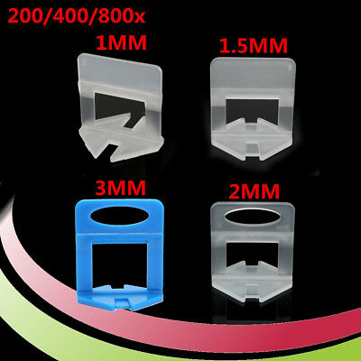200/400/800X Clips Tile Leveling System Spacer For Floor Wall Tiling Levelling