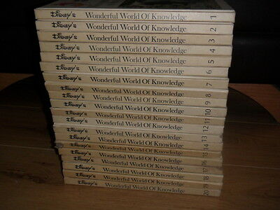 Disney wonderful world of knowledge books