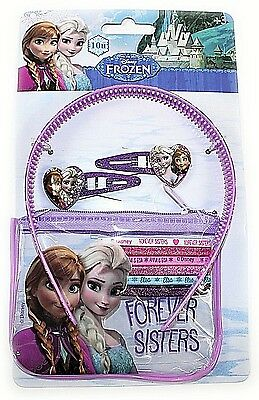 JOB LOT 50 x Disney Frozen hair accessories packs Wholesale Car Boot NEW