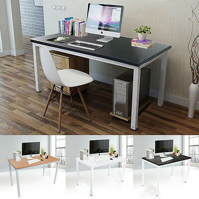 Newest Large Computer Study Desk Office Desk WorkStation Table Desk PC Furniture