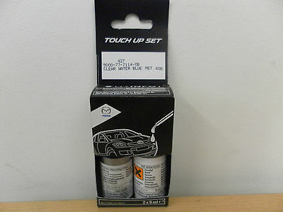 Mazda Clear Water Blue 40B Touch Up Paint Brand New Genuine Part