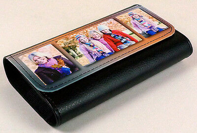 PictaLeather Glasses Case Personalised With Your Own Image Or Design