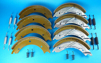 Twin Axle Set of 250x40mm Trailer Brake Shoes 250x40 KNOTT Style Ifor Williams