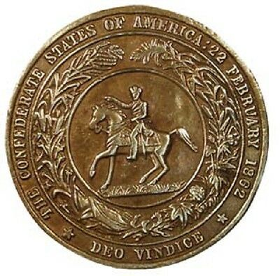 """3"""" Great Seal Of The Confederacy Belt Buckle Reproduction New"""