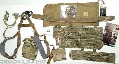 CTOMS M-2 Harness QRPS Complete M-2 Belt/Chassis-Leg Loop-Padding System