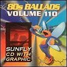 Sunfly Karaoke Hits Volume 110 80s Ballads CD + G New Sealed