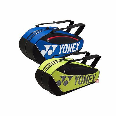 Yonex Club 5726 6 Racket Bag (Available in Blue or Lime)
