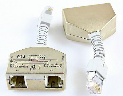 BTR Netcom Cable-sharing-Adapter pnp3 Ethernet 130548-03-E Set