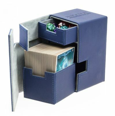 Ultimate Guard - Flip'n'Tray XenoSkin Deck Case 100+ Blue - Karten Gaming Boxen