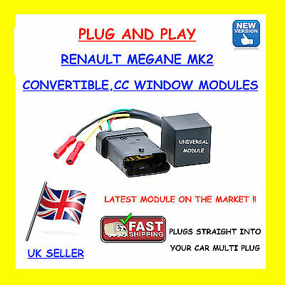 Temic Electric Window Module for Renault Scenic Convertible CC Front Rear L//R