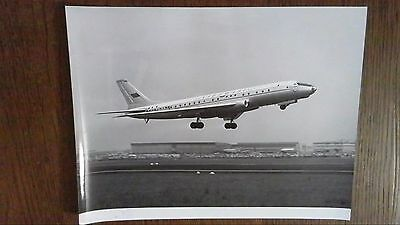 Photo Originale Des Annees 50  Aeroport Paris Orly Avion Au Decollage