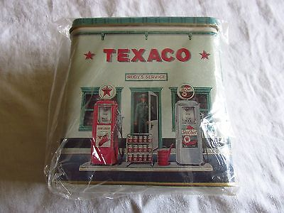 Texaco Rudy's Service Station Litho Tin Bank by R&B Collectibles - New