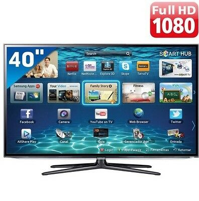 Smart Tv Samsung 40 Pollici LED Full HD 100hz USB HDMI