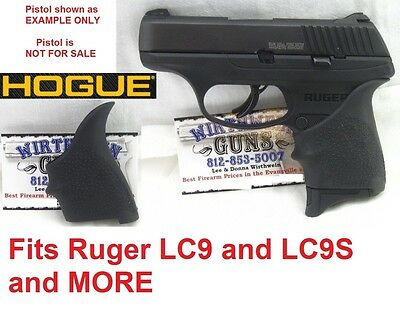 BLACK 18400 Hogue Rubber HandAll Beavertail Grip Sleeve fits Ruger LC9 LC9s