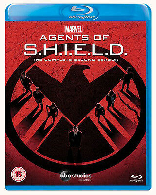 MARVEL'S AGENTS OF S.H.I.E.L.D. Season 2 [Blu-ray 5-Disc Set] Shield Second Two