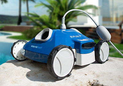 New 2017 Aquabot Spirit Above and In Ground Robotic Pool Cleaner