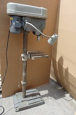 Delta Rockwell Drill Press 15-665 Motor 115-230 Volts 3/4 HP Tilting Table D7