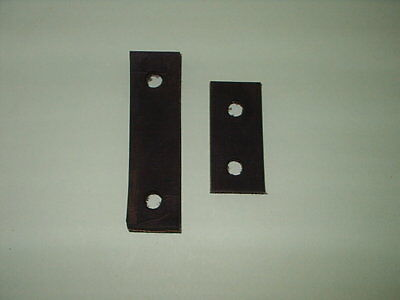 UNIVERSAL Exhaust Mounting Rubber Strap 2 Pieces classic car strip!