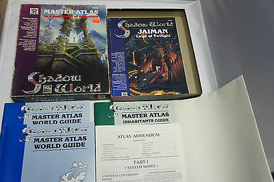 Master Atlas to a new world of adventure Shadow World