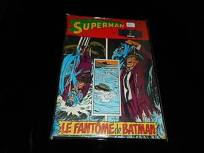 Superman Bat-Man & Robin 34 Editions Sagédition