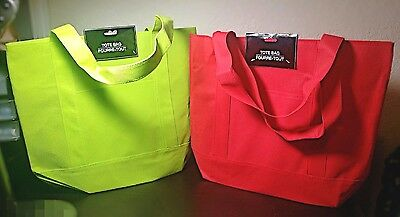 NEW canvas Large Reusable SHOPPING/Grocery/BEACH Bag Totes Eco-friendly