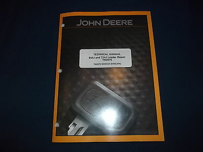 John Deere 644J 724J Loader Technical Service Shop john deere 644j loader operation & test technical manual (only john deere 644 wiring diagram at virtualis.co
