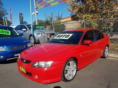 2004 Holden Commodore VY II SS Red Automatic 4sp A Sedan