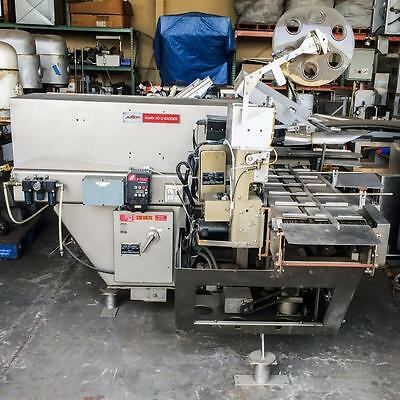 Amf Mark 50C Automatic Bread Bagger Bakery Equipment Bagging Up To 50 Loaves/min