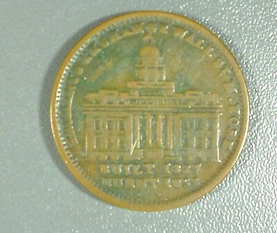 1837 Token Merchants Exchange of Wall St NY/Not One Cent For Tribute