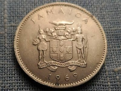 Jamaica   1969    10 Cent Coin    Km#47