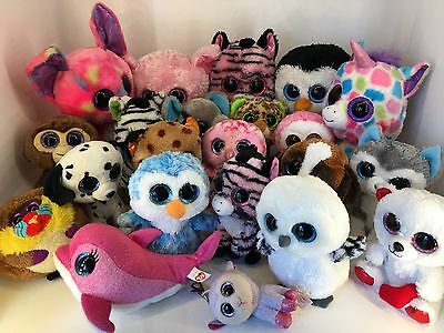 Ty Beanie Boo - Huge Lot including Rare and Retired x 22