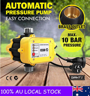 New Water Pump Automatic Pressure Controller Unit Auto Control Electronic Switch