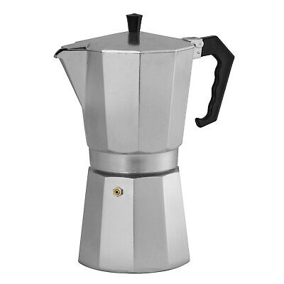 Genuine! AVANTI Classic Pro 12 Cup Stove Top Espresso Coffee Maker! RRP $53.95!