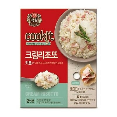 [5packs] CJ Beksul Cream Risotto 180g / instant food kit / korean food / fast co
