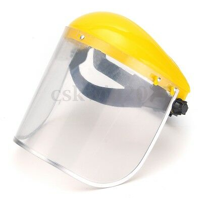 Clear Safety Grinding Face Shield Screen Mask For Visors Eye Face Protection